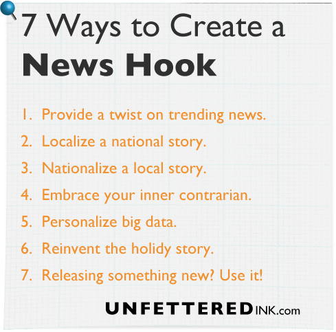 7 Ways to Create a News Hook Title