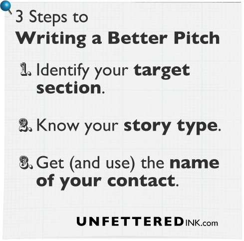 3 Steps to Writing a Better Pitch
