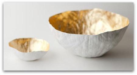paper bowls Susan Dwyer