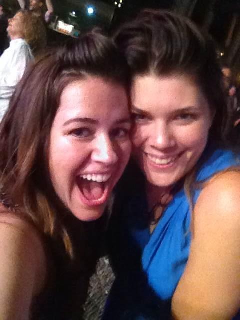 Maggie and Brigitte at #WDS2014